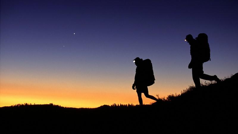 hiking headlamps