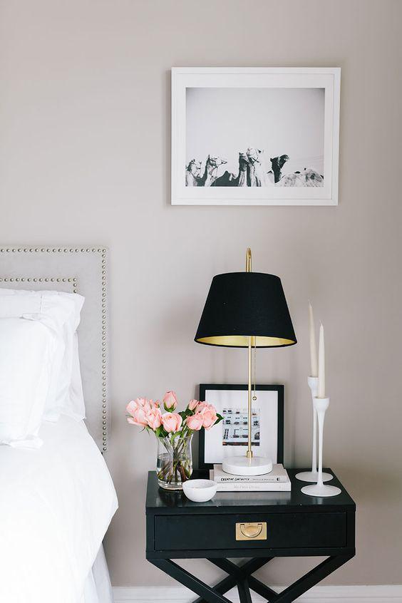 white and black photo frames