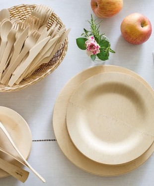 wooden dinnerware wholesale