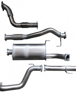100 series landcruiser exhaust upgrade