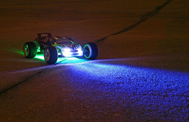 rc car lights