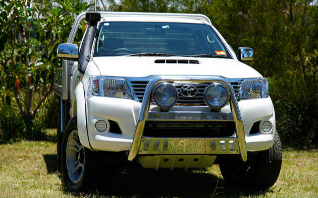 4wd nudge bars