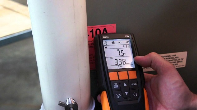 Testo 310 Flue Gas Analyzer