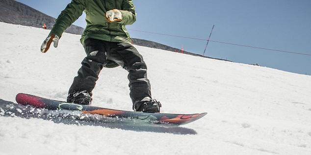 Rocker snowboard