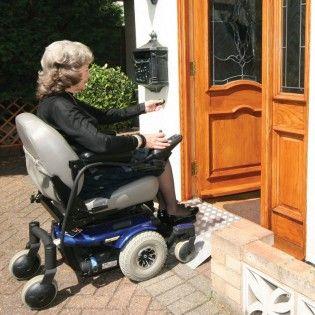 Automated door wheelchair