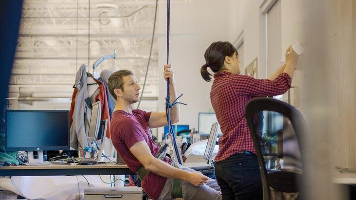 Climbing Harness testing